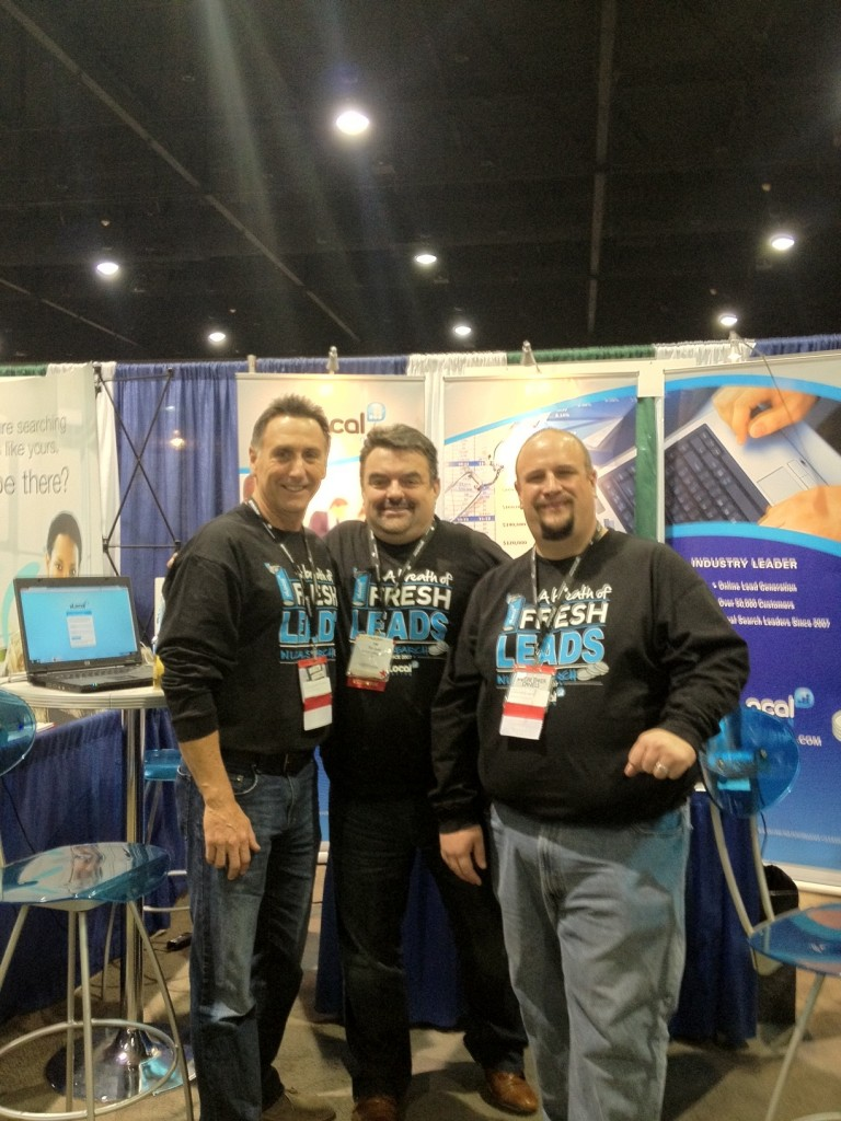 Tim Judd, Scott McNulty and Brian Osterhout at IFA in Orlando